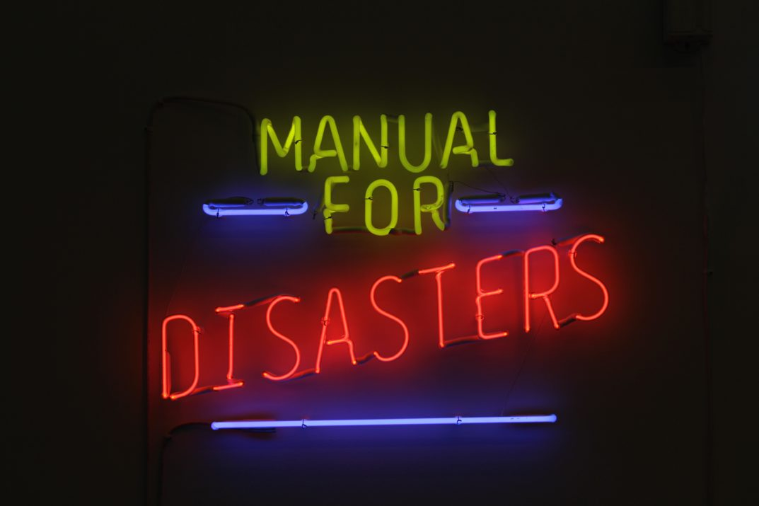 Raed Yassin, Manual for Disasters, 2017. Courtesy Kalfayan Galleries